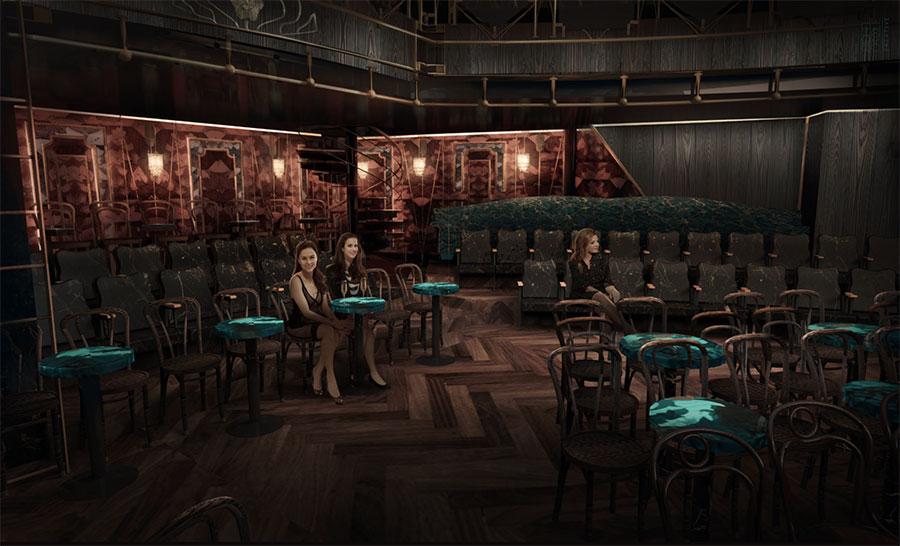 Hippodrome Theatre mockup